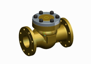 Check valve for gaseous oxygen service – 255900 SERIES | Presentation