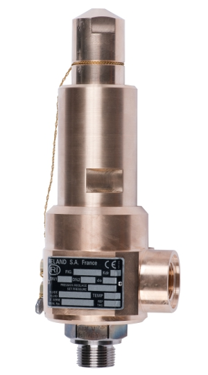 High pressure bronze safety valve – 775100 SERIES | Presentation