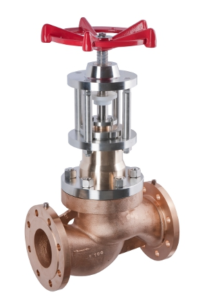 Globe valve for gaseous oxygen service – 155900 SERIES | Presentation