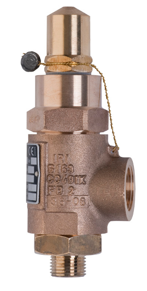 Bronze safety valve – 770100 SERIES | Presentation